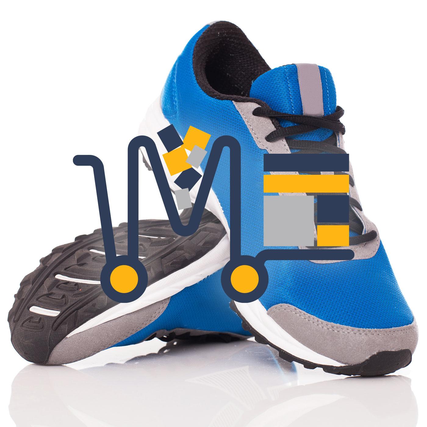 Pantofi sport din panza cu insertii de piele ecologica cu insertii de piele ecologica(d